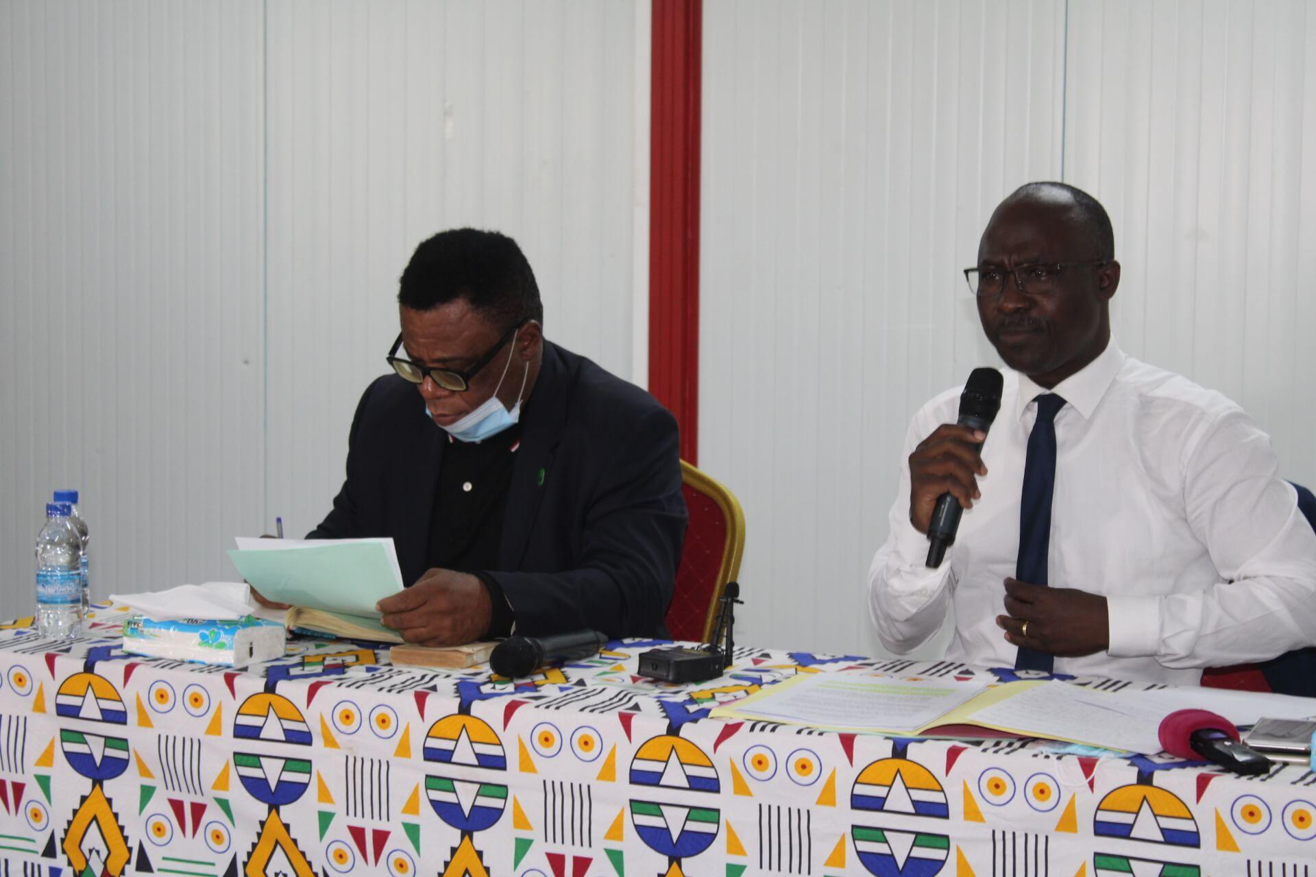 Mercredi 26 Mai 2021 : Conférence sur la réforme de l'organisation juridictionnelle ivoirienne et la Summa Divisio en Droit